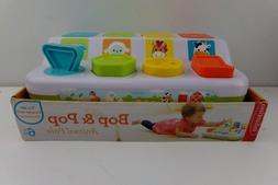 Infantino Bop & Pop Animal Pals Developmental Toy Baby 6 mon