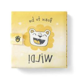 Born To Be Wild Sunshine Yellow 7 x 7 Fabric Children's Basi