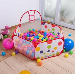 Boy Girl Kids Ball Pit Indoor Play Tent Game House Ocean Poo