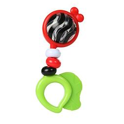 Baby Einstein Bright Bold Rattle & Teether High Contrast Rat