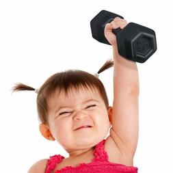 buff baby rattle dumbell shape cute baby