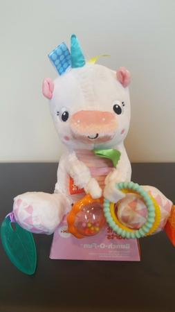 Bright Starts Bunch-O-Fun Unicorn Plush Activity Toy for inf