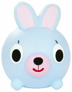 Jabber Ball Bunny Squeak Toy Figure, Blue