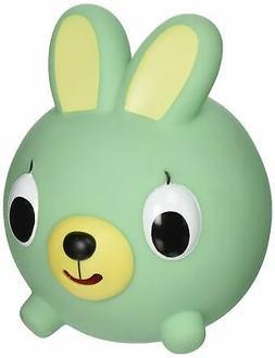 Jabber Ball Bunny Squeak Toy Figure, Green