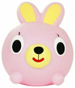 Jabber Ball Bunny Squeak Toy Figure, Pink