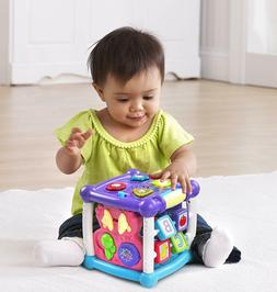 VTech Busy Learners Activity Cube Purple, Online Exclusive K