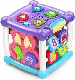busy learners activity cube purple toys