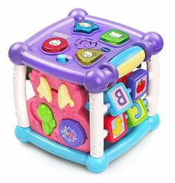 VTech Busy Learners Activity Cube Purple - Online Exclusive,