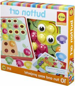Kids Button Art Toddler Developmental Arts Crafts Activity P