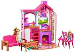 Barbie Camping Fun Cabin Set