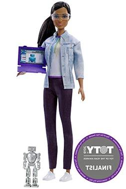 Barbie Career of the Year Robotics Engineer Doll, Brunette