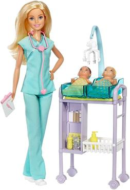 Barbie Careers Baby Doctor Playset Accessories Toy Perfect G
