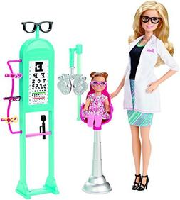 Barbie Careers Eye Doctor Playset CMF42