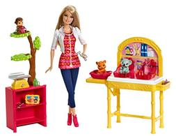 NEW Barbie Careers Zookeeper Doll and Playset FREE SHIPPING