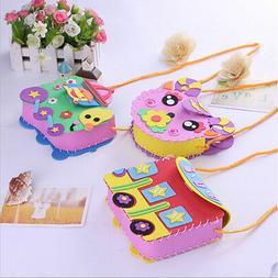Cartoon Kids UTA Foam Toy Boys Girls Diy Handmade Handbag Ac