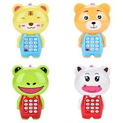 cartoon music phone baby toys educational learning