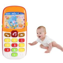 cartoon music phone baby toys electronic educational