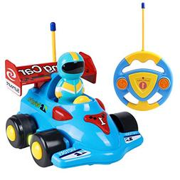 ANTAPRCIS Cartoon Remote Control Car Christmas Toys for Todd