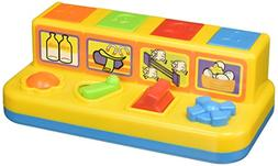 Castle Toys Push, Slide, Click & Turn Pop-Up Farm Yard Frien