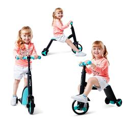 Children Scooter Tricycle Baby 3 In 1 Balance Bike Ride On T