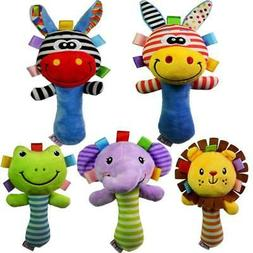 Choose before they are all gone!  Animal rattles and squeake