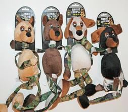 """CLEARANCE! 22"""" Plush Crinkle Sounds Soldiers U.S. Army Dog P"""