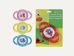 clearance water filled teether elmo cookie monster