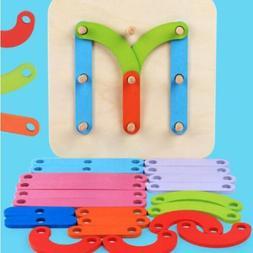 Clever Toys Puzzle Cultivate Educational Preschool Alphabet