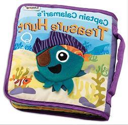 Lamaze Cloth Books for Toddlers - Captain Calamari's Treasur
