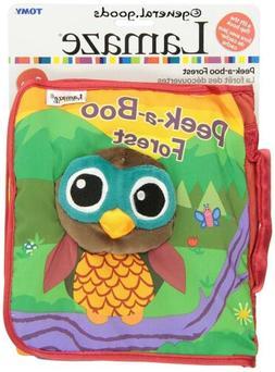 Lamaze Cloth Soft Book Peek-a-Boo Forest Infant Plush Owl Cr