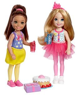 Barbie Club Chelsea Birthday Party Dolls & Accessories, 2 Pa