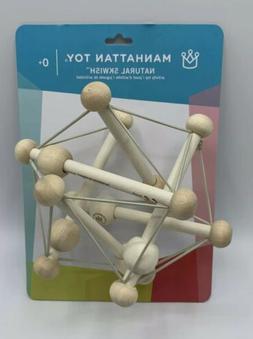 Manhattan Toy Co. Skwish in Natural - Wooden Baby Toy