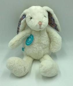 Manhattan Toy Company Bunny Rabbit Plush Floral Ears Stuffed