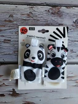 Baby Einstein Contrasts Critters High Contrast Finger Puppet
