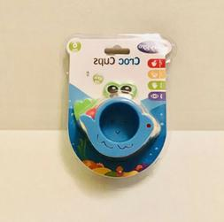Playgro Croc Cups Water Sand Developmental Toy Stack Link So