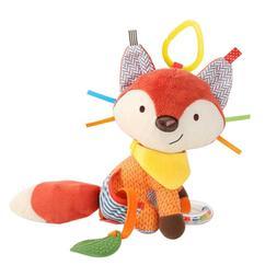 Cute Cartoon Plush Fox Toy Activity Stroller Cradle Newborn