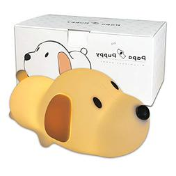 LECO TECH Cute Puppy Dog Nursery Night Light Lamp for Baby T