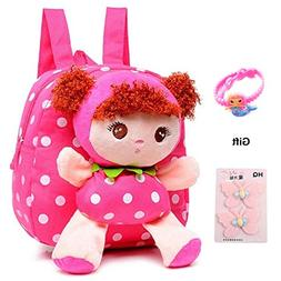 Little-Sweet Cute Kids Toddler Backpack Plush Toy Backpack S
