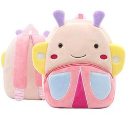 Cute Small Toddler Backpack for Girl Boy Kids Plush 3D Anima