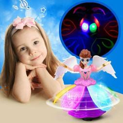Dancing Music Princess Doll LED Light for 3 4 5 6 7 Year Old