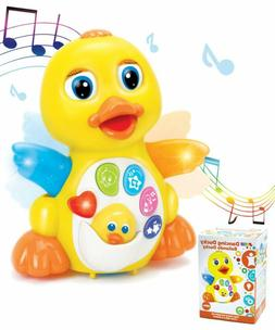 Dancing Musical Duck Toy for 1 yr old Boys & Girls Gifts wit