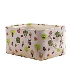TcaFmac Decorative Fabric Storage Basket for Gifts Empty, Ca