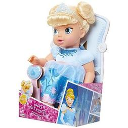 Disney Princess Deluxe Baby Cinderella Doll with Pacifier To