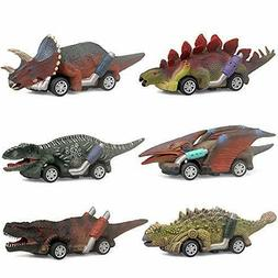 "Dinosaur Toy Car Boy Toys Age 3 To 12 5.3"" For 4 5 6 7 8 9 1"