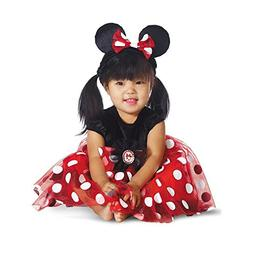 Disguise My First Disney Red Minnie Costume, Black/Red/White