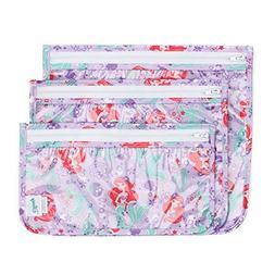 Bumkins Disney Ariel TSA Approved Toiletry Bag, Travel Bag,