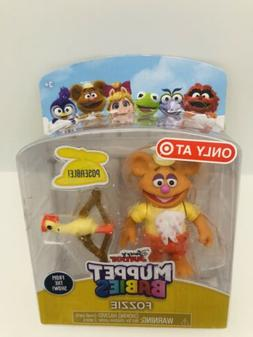 Disney Jr. Muppet Babies BABY FOZZIE BEAR Muppets Plastic TO