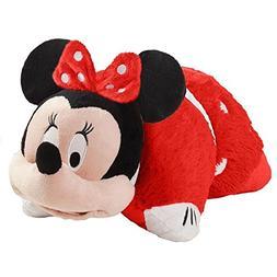 "Pillow Pets Rockin' The Dots Minnie Disney, 16"", Red/White"
