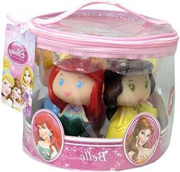 Disney Princess Bath Tub Pool Squeeze Toys 5 Pc Set Bendable
