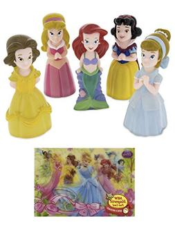 Theme Park Disney Exclusive Princess Squeeze Toys Playset 5